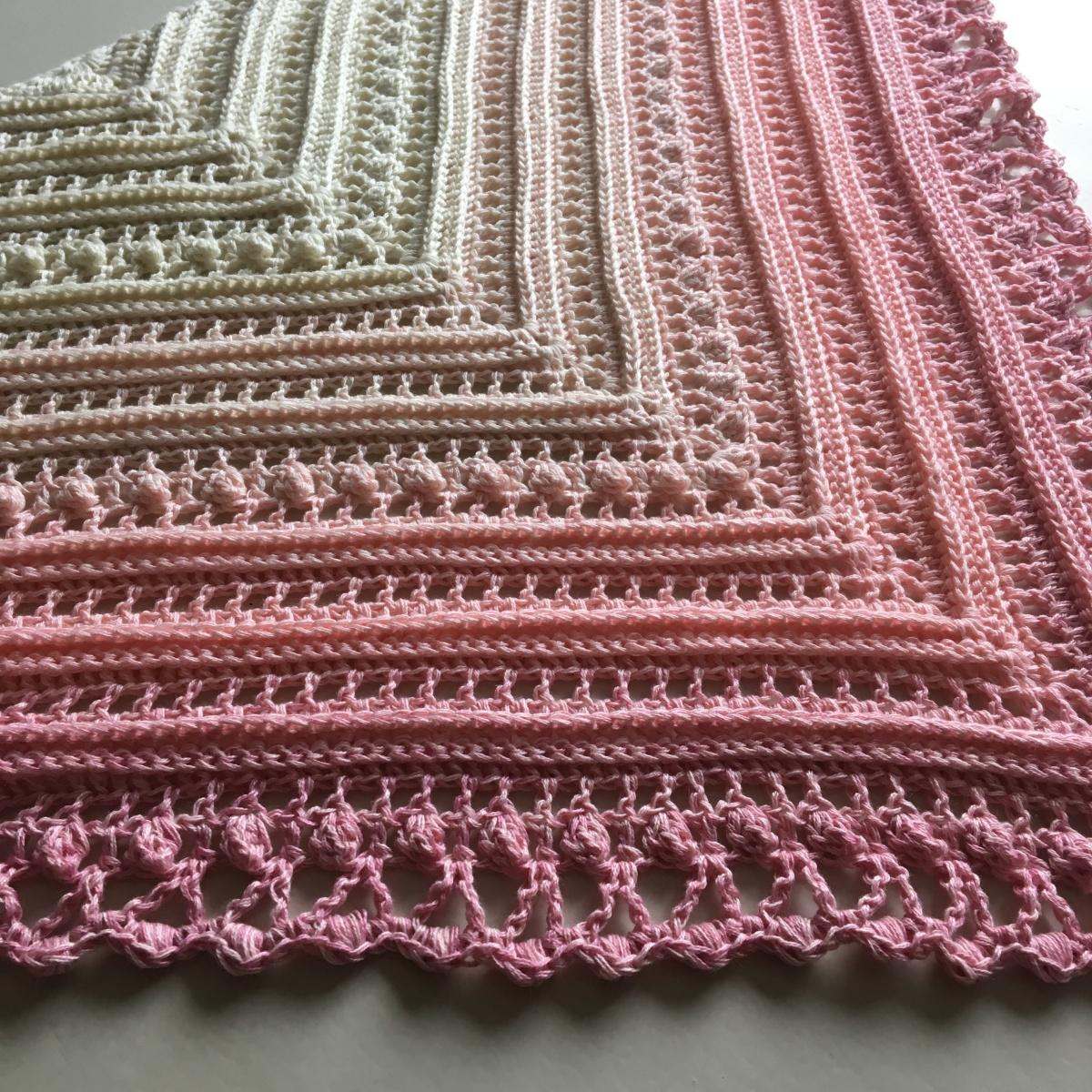 Crochet Pattern Lost In Time : Secret Paths Sjal / Shawl ? Mijo Crochet