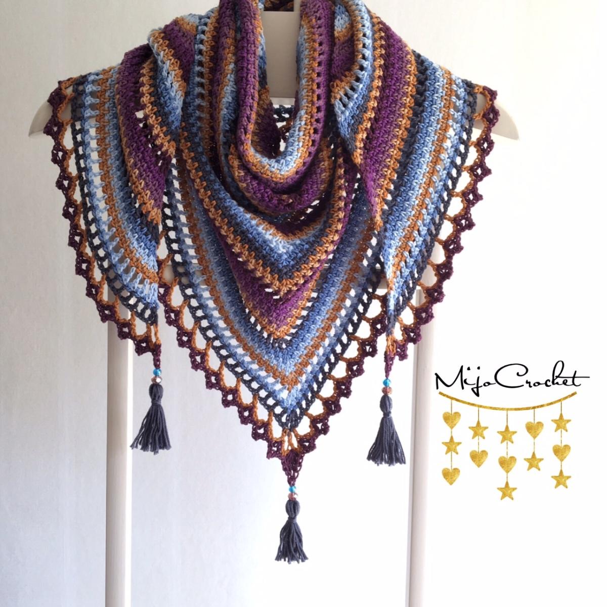 Taiga Sjal / Shawl ? Mijo Crochet