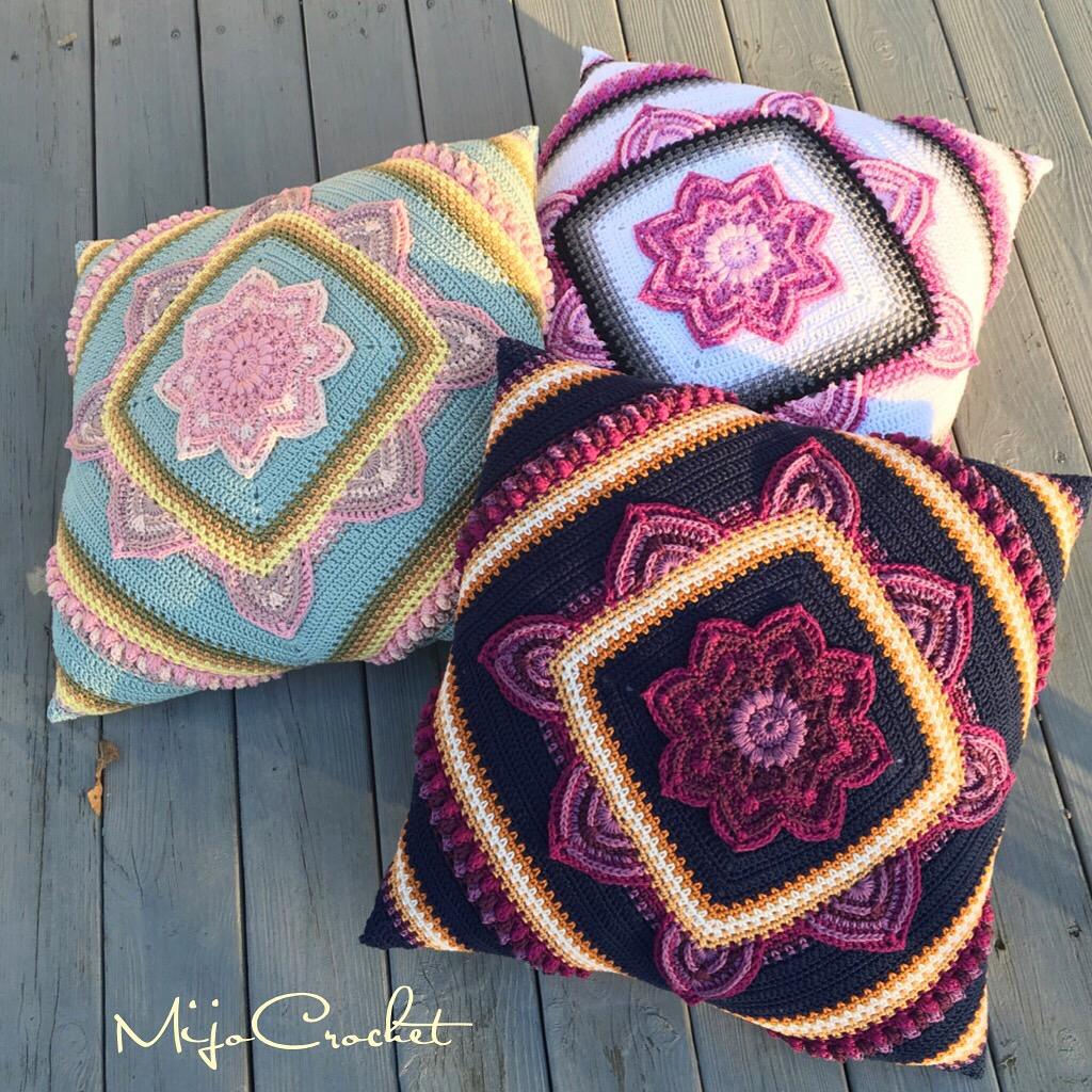 Crochet Pattern Tester 2017 : In Bloom CAL ? M?nster / Pattern ? Mijo Crochet