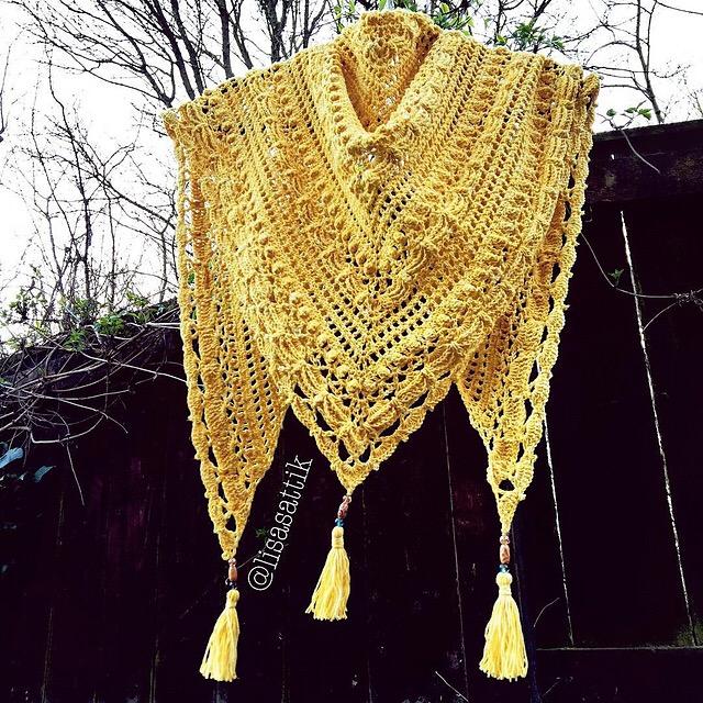 Crochet Pattern Lost In Time : Lost in Time Shawl / Sjal ? Mijo Crochet