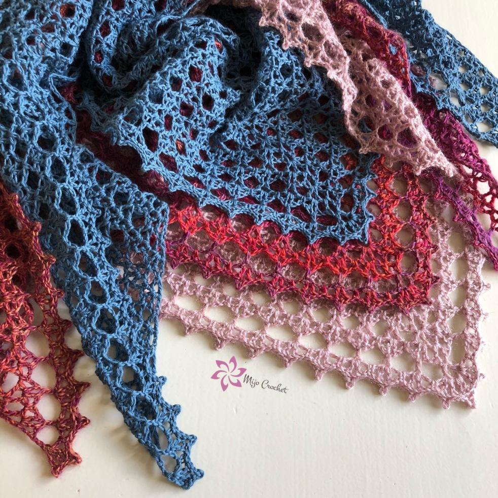 handla bästsäljare populärt varumärke godkännandepriser virkadsjal – Mijo Crochet