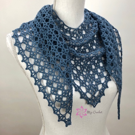Treasure Hunt Scarf by Mijo Crochet Johanna Lindahl (9)