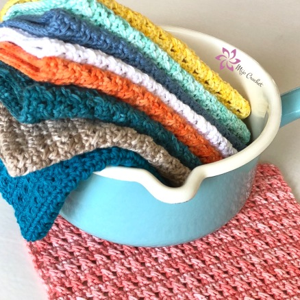 Mijo Dishcloth Washcloth by Mijo Crochet Johanna Lindahl (3)